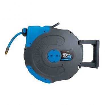 Jamec Pem Pro Series Extreme 20mtrs Air Hose Reel 1/4bsp swivel