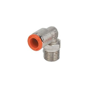 Rotary Elbow 6mm to G1/4 Male