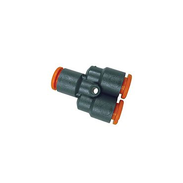 Equal 8mm Push-in Y Connector