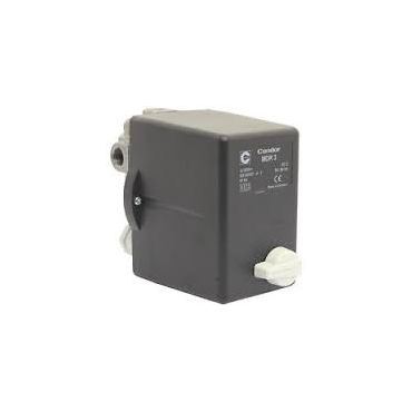 6.3 - 10 Amp 3 Phase Condor Pressure switch 1/2 - 4 Way