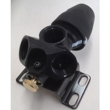 AIRnet 25mm x 1/2 bsp Wallmounted Triple Outlet Manifold
