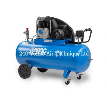 15 cfm Abac PRO A49B 150L CM3 *1 Phase 16amp Supply (with optional wheels)