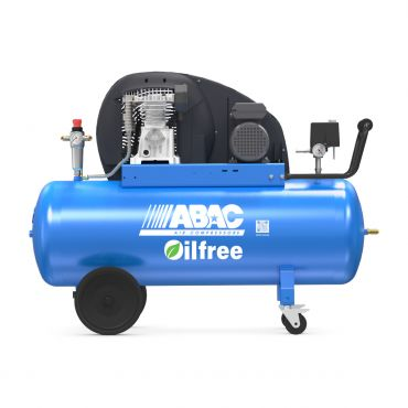 ABAC 9cfm Zero PRO A29B-0 150L CM2 * Single phase 13 Amp supply (with optional wheels)
