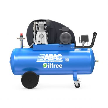 ABAC 14cfm Zero PRO A39B-0 200L CM3 * Single phase 16 Amp supply (with optional wheels)