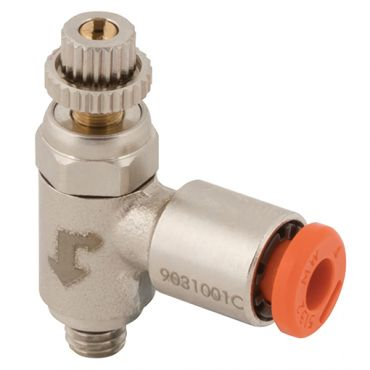 1/8 bspm x 6mm Push-In Flow Regulator