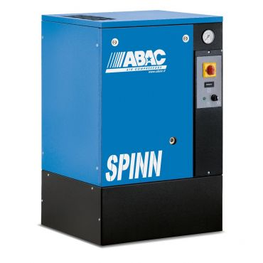Abac Spinn 4kw 16cfm @ 10 Bar Floor Mounted 415 Volt C40 Compressor