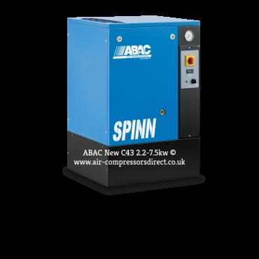 Abac Spinn 5.5kw 27.5 cfm @ 10 Bar Floor Mounted 415 Volt C43 Compressor