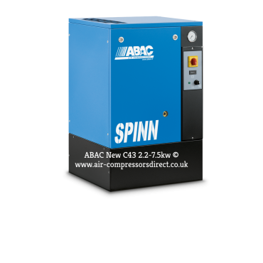 Abac Spinn 7.5kw 34 cfm @ 10 Bar Floor Mounted C43 Compressor