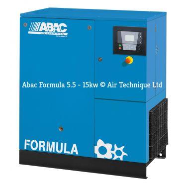 Abac Formula 7.5kw 43cfm @ 8 Bar Floor Mounted C55*