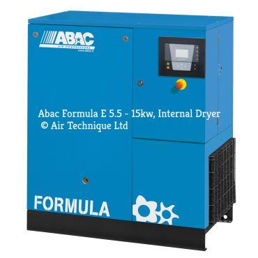 Abac Formula E 15kw 58cfm @ 13 Bar Dryer Built-In Compressor Floor Mounted C67