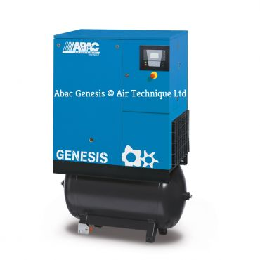 Abac Genesis 7.5kw 43cfm @ 8 Bar 270L C55* Compressor