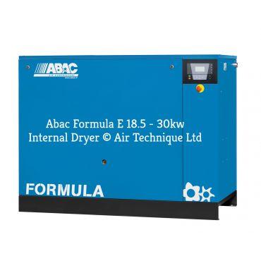 Abac Formula E 18.5kw 80cfm @ 13 Bar Dryer Built-In Compressor Floor Mounted C67