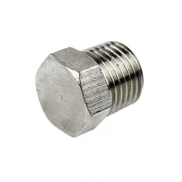 "1/4"" bsp Male Tapered Hex Plug"