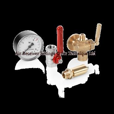 4000 & 5000L Air Receiver Safety Valve Kit