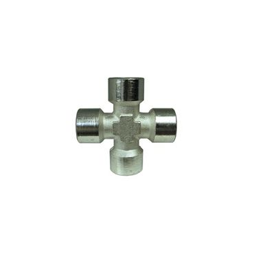 "Equal Female Cross 1/4"" bsp"