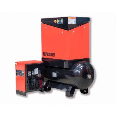Airwave Eco-Speed 15kw 67 cfm @ 10 Bar 300L Tank Mounted + Dryer + Free Options