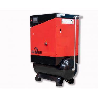 Airwave Vari-Speed Permanent Magnet 7.5kw 32 cfm @ 10 Bar 300L Tank Mounted + Free Options