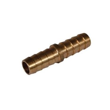 "1/4""-6mm x 1/4""-6mm Brass Hosetail Joiner"