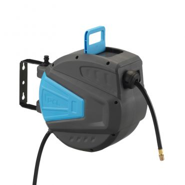 PCL Workshop Pro Hose Reel 10mtrs x 10mm i.d Hose 1/4bsp Male Ends