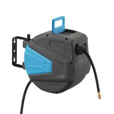 PCL Workshop Pro Hose Reel 15mtrs x 10mm i.d Hose 1/4bsp Male Ends