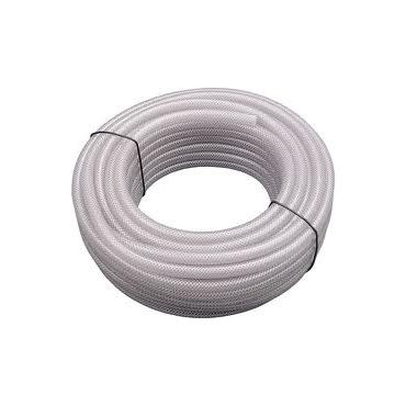"1/4""-6mm id PVC Reinforced Braided Hose 30mtrs"