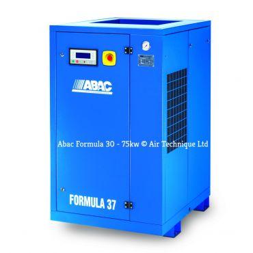 Abac Formula 55kw 233cfm @ 13 Bar Rotary Screw Compressor Fixed Speed