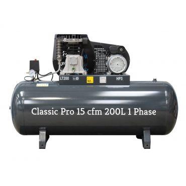 *15 cfm Classic Pro Black Edition NG4-200F- 3M*Single Phase 16 amp Supply