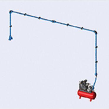 DIY Airnet Air System 1 Bay Kit 25mm Dia 8.5mtrs