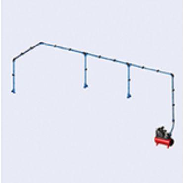 DIY Airnet Air System 3 Bay Kit 25mm Dia 17.1mtrs