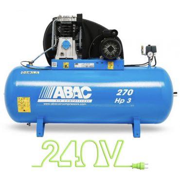 15 cfm Abac PRO A49B 270L CM3 *1 Phase 16amp Supply