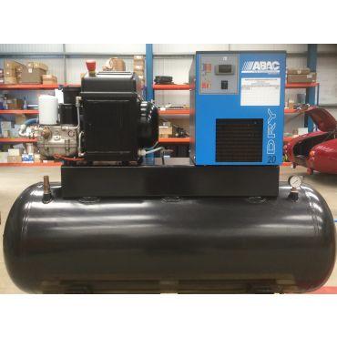 KTC 2.2kw 8.5cfm @ 10 Bar 240 Volt Tank-Dryer Mounted 270L