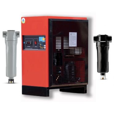 Eco-Dry up to 180 cfm Heavy Industrial Refrigerated Dryer + 2 Filters