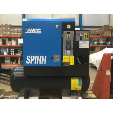 Reconditioned Abac Spinn E 11kw 08 Bar 270L Tank+Dryer 415 Volt