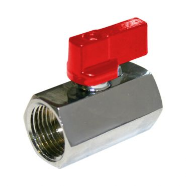 Mini-Ball Valve 3/8bsp Female/Female