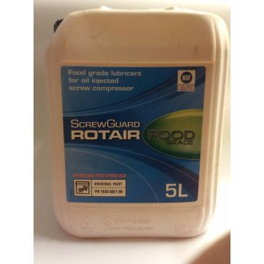 Rotair Food Grade Oil 5ltrs