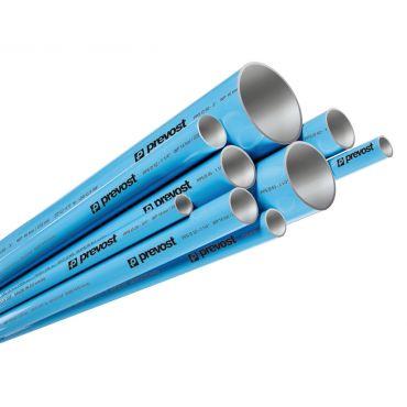 1 x 5.5mtr Prevost 40mm Aluminimum Pipe