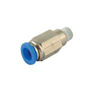 1/4 bsp x 8mm Push-In Non-Return-Valve