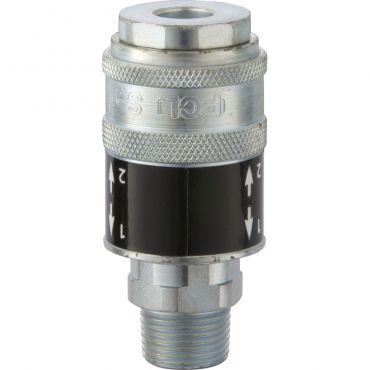PCL Safety Coupling Male thread 1/2 SC21JM Safeflow