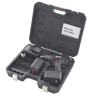 """PCL APC218/2B Impact Wrench (18V, 3.0 Ah), 1/2"""" Drive (c/w 2 x Batteries, Charger & Case)"""