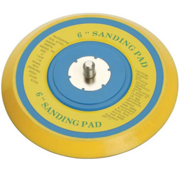 "APT90A Sanding Pad 150mm (6"") diameter, Self-Adhesive (1 per Pack)"