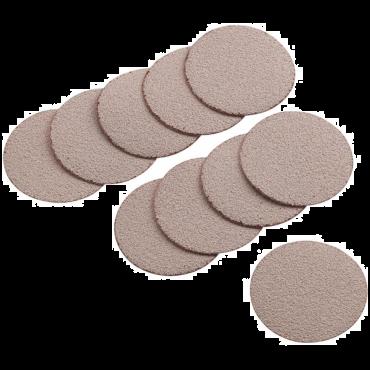 """APA96 50mm (2"""") Sandpaper Discs Grade 60 (10 per Pack)"""