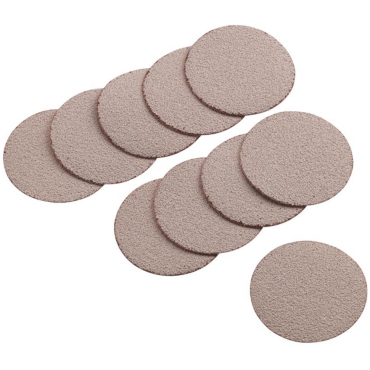 """APA99 50mm (2"""") Sandpaper Discs Grade 320 (10 per Pack)"""
