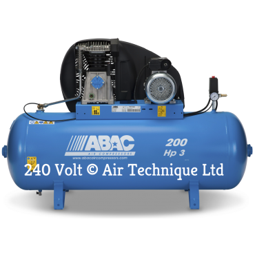 14cfm Abac PRO A39B 200L FM3 * Single phase run off a 16 Amp supply