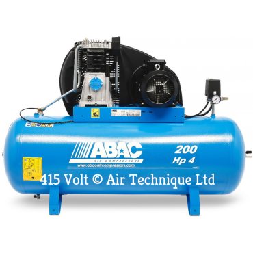 18 cfm Abac PRO A49B 200L FT4 *3 Phase 415 volt