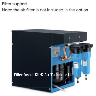 """Abac Filter Mounting Support DRY 20-130 1/2"""""""