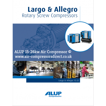 ALUP ALLEGRO Air Compressor 15-26kw Enquire for Price