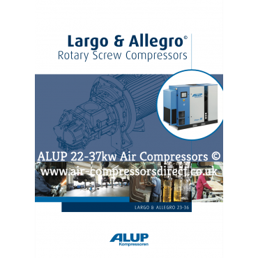 ALUP ALLEGRO Air Compressor 22 - 37kw Enquire for Price