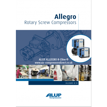 ALUP ALLEGRO Air Compressor 2.2 -15kw Enquire for Price