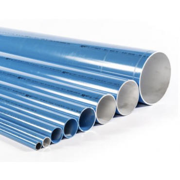 1 x 5.7mtr Airnet 40mm Aluminimum Pipe