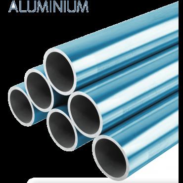 28mm o.d Aluminium Pipe 3mtrs
